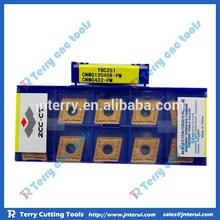 ZCCCT CNC inserts with tungsten, top grade, high precision