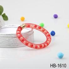 alibaba latest women red lucky stardust bead bracelet