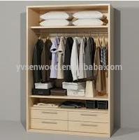 wooden wardrobe with laminates