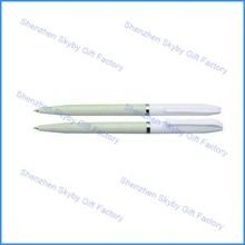 PP082 Plastic Ball Full White mini pen