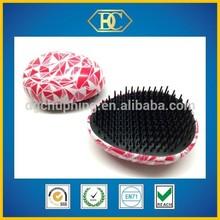 Water transfer detangle hairbrush 2015 Excellent Quality brush