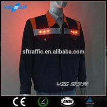 High vis safety EL LED Man Hi vis Work Shirt