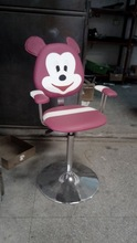 whole sale Mickey mouse design carton barber chair for kids salon