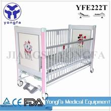 YFE222T Hospital Furniture Medical Equipment Kid Bed