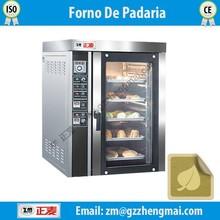 Baking in convection forno de padaria