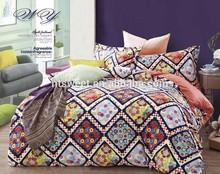 printing cotton bedding set/velvet bed sheet/children duvet cover sets