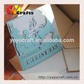 новый продукт лазерная резка образец ручной работы рождественская открытка приветствия