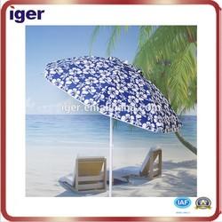 windproof beach umbrella 8 ribs for sale