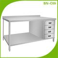 Cozinha de aço inoxidável de alta qualidade armário de cozinha / armário da cozinha BN-C09