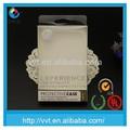 De plástico caja de accesorios para teléfonos móviles de embalaje