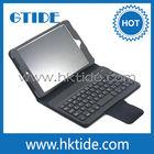 Multi-function PU leather cover keyboard for ipad mini case keyboard bluetooth wireless