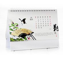 Cheap 2014 desk pad wholesale printing calendars