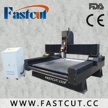 China Jinan cutter marble used cnc 3d stone engraving machine FASTCUT-1318