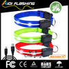 CE&Rohs Shockproof green led pet collar for festivals,party with 3mode