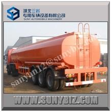 3 axle water tank trailer/30000L 50000lL 80000L water tank semi trailer/water transport tank trailer