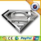 ABS Chrome Superman Logo Car Body Sticker