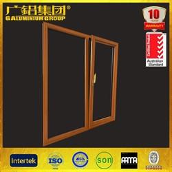 New style aluminum doors and windows wooden