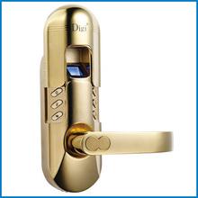 electronic waterproof biometric fingerprint door lock with mechanical cylinder #98