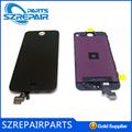 De alta calidad para el iphone blanco 5 pantalla lcd, pantalla del teléfono celular de reparación