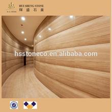 Italian Elegant Beige Wood Grain Marble Serpeggiante Marble