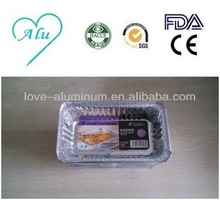 Disposable Pollution-free Convenient Best-Selling High Quality ISO9001 ISO14001 SGS FDA 650ml Rectangle Microwave Food Container