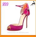 parte del sexo gambar vestido populares señora del alto talón del zapato