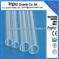 Cilindro de alta- la temperatura de cuarzo tubo de vidrio para la venta