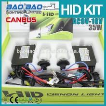 Xenon HID Kit, slim canbus HID Kits , H4,H1/3/7/8/9/10/9005/9006 hid headlight Kit--BAOBAO LIGHTING