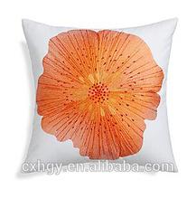 Linen Home Decor Cushion Cover Pretty Girls Sofa Bedding Pillow Case