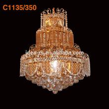 C1135 water fall drop crystal pandent lamp, Econmic crystal chandeliers, Cheap crystal chandeliers for bedroom