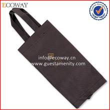 OEM 2015 Black Nonwoven Fabric Hotel Cheap Mesh Laundry Wash Bag