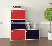 cheap wood cube shelf design wooden book rack