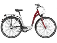 Online sale high quality aluminum alloy 6061inter 3 speed utility bike for women