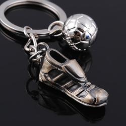 high quality metal jogging mini running shoe keychain supplier
