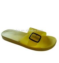 2014 mulheres ' s populares placas de EVA para chinelos com fivela superior