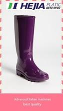 work pvc rain shoes purple rain boots for women