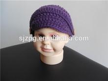 hand made crochet cotton newborn baby caps
