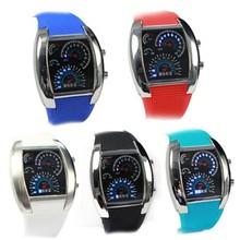vogue LED watch siliver case