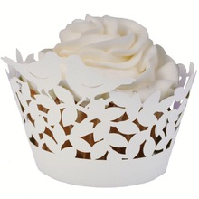 White Color and High Quality Cupcake Wrapper