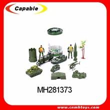 Plastic action figure, soldier set for sale