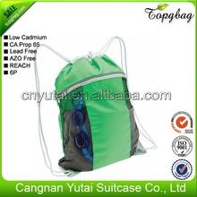 Super quality hot sale custom golf stand draw string bag