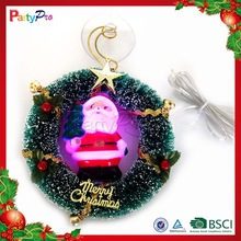 2015 Wholesale Chinese Festival Decoration LED Wreath Supplies