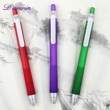Good price promotion rubber grip plastic ball pen