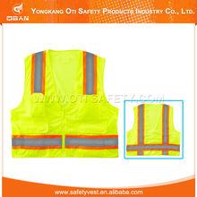 High visibility ANSI STANDARD new design cheap Reflective Safety Vest Motorcycle