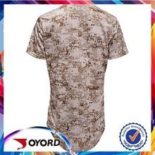 2015 high quality wholesale new design best selling camo baseball uniform