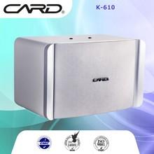 CHINA FACTORY CARD hanging installed 3-way 10 inch 250W KTV karaoke speaker