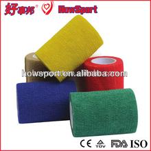 Elastic Breathable Vet Wrap Cohesive Surgical for Dog Self Adherent Coban Bandage