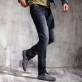 cintura alta macacao jeans para homens pm3005c