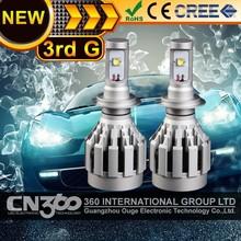 Auto parts plug and play h7 cree car lights