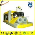 Pvc venta caliente inflable obstáculo panda curso plioc- 314